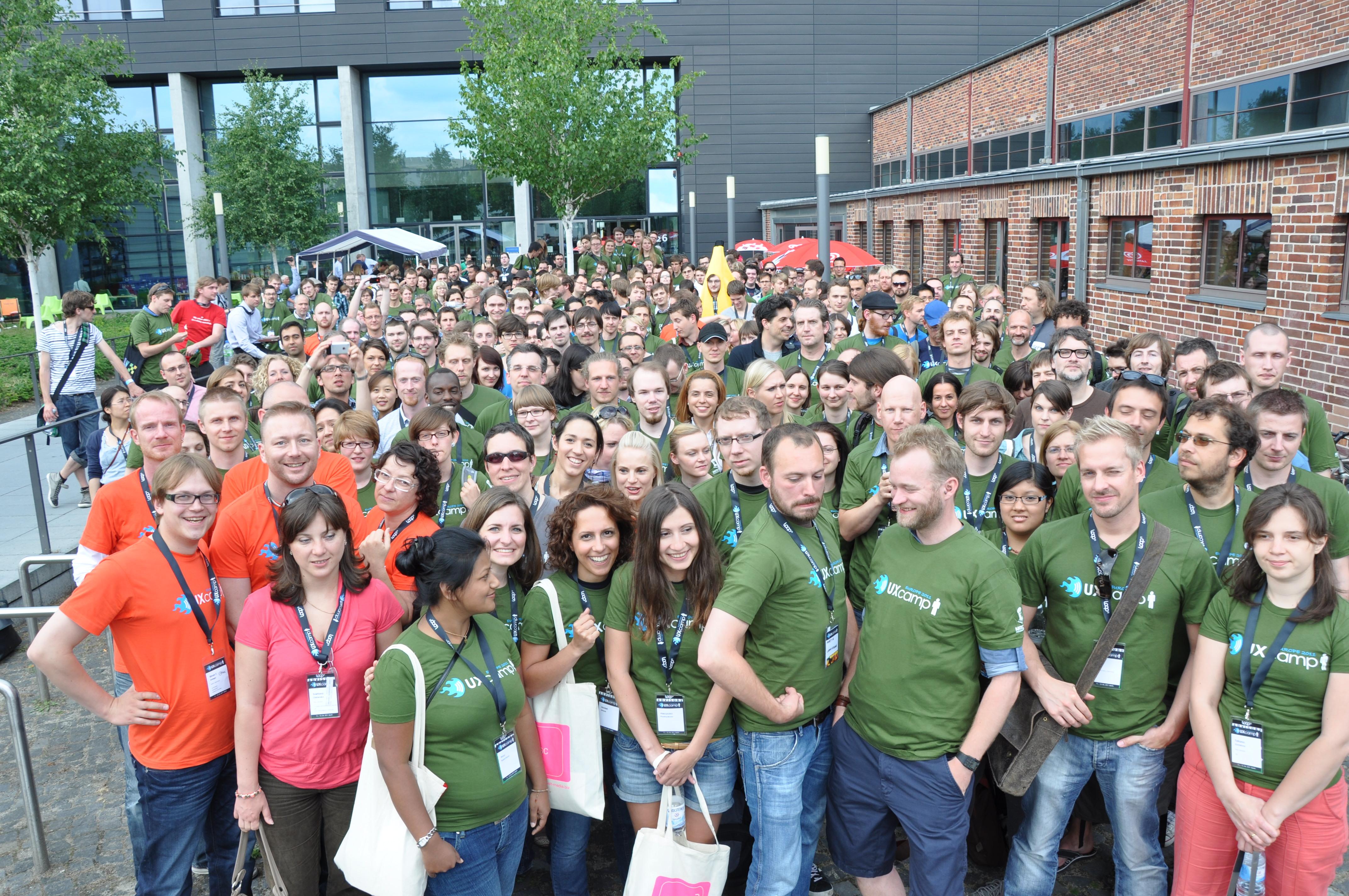 UXcamp participants
